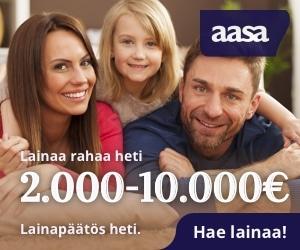 Aasa laina 2000 - 10000€ - Lainapäätös heti!