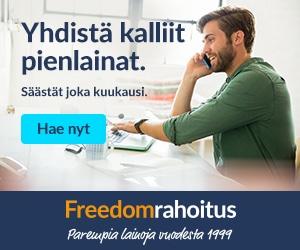 Freedom Rahoitus yhdistää lainat