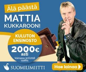 Suomilimiitti ilmainen ensilaina