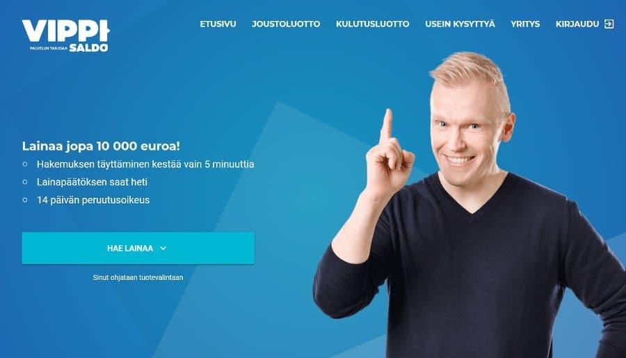 Vippi.fi kotisivu